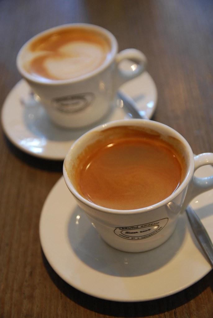 Decaf Soy Caffe Latte AUD4.50, Long Black Coffee AUD3.50 - D.O.C. Mornington