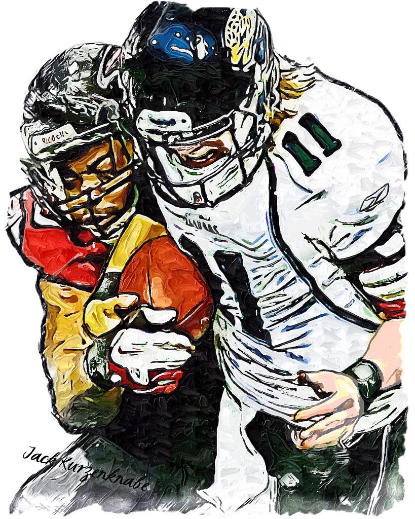 0 Atlanta Falcons John Abraham Jacksonville Jaguars Blai