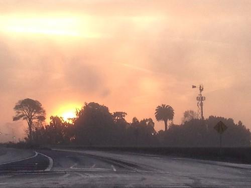 california sunrise landscape salinas centralcoast ip iphone