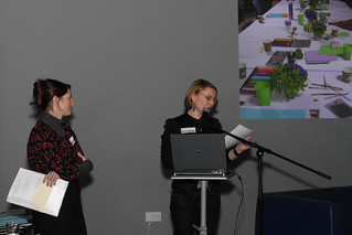 National | Dialogue Arts + Health Annette Moloney (Dialogue Arts + Health Artist Liaison) with Justine Foster (Steering Group Chair) | by Dialogue Arts + Health