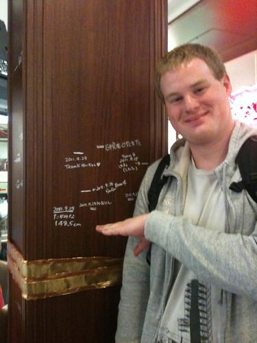 I'm quite a bit taller than takamina... | by kalleboo