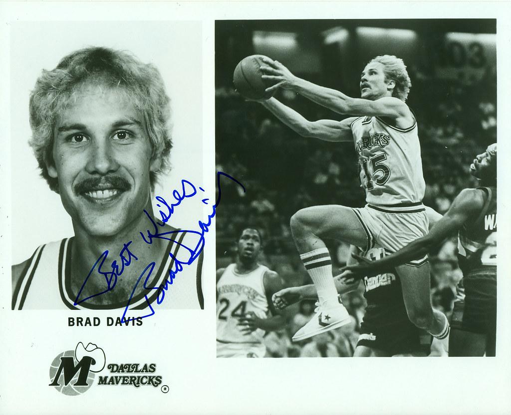 pretty nice 54932 0c415 Brad Davis, Dallas Mavericks, Autographed 8x10 Photo   Flickr