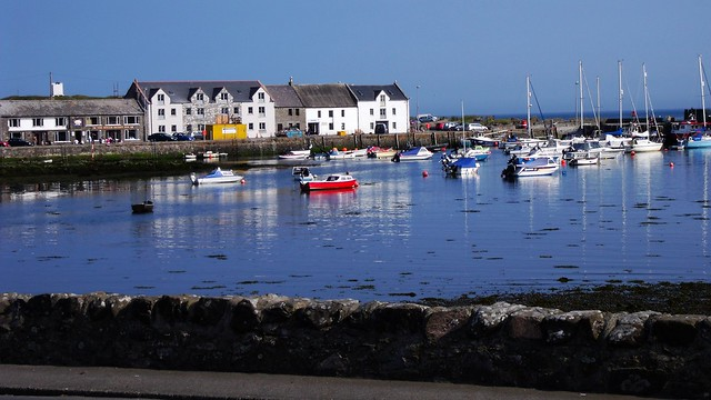 Isle of Whithorn, harbour, Dumfries & Galloway, Scotland