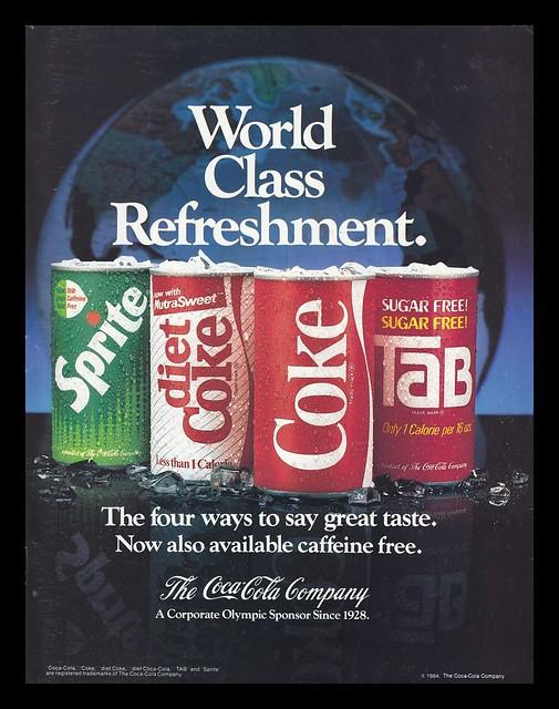 Coca-Cola, 1984