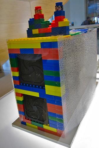 Google's First Storage Rack
