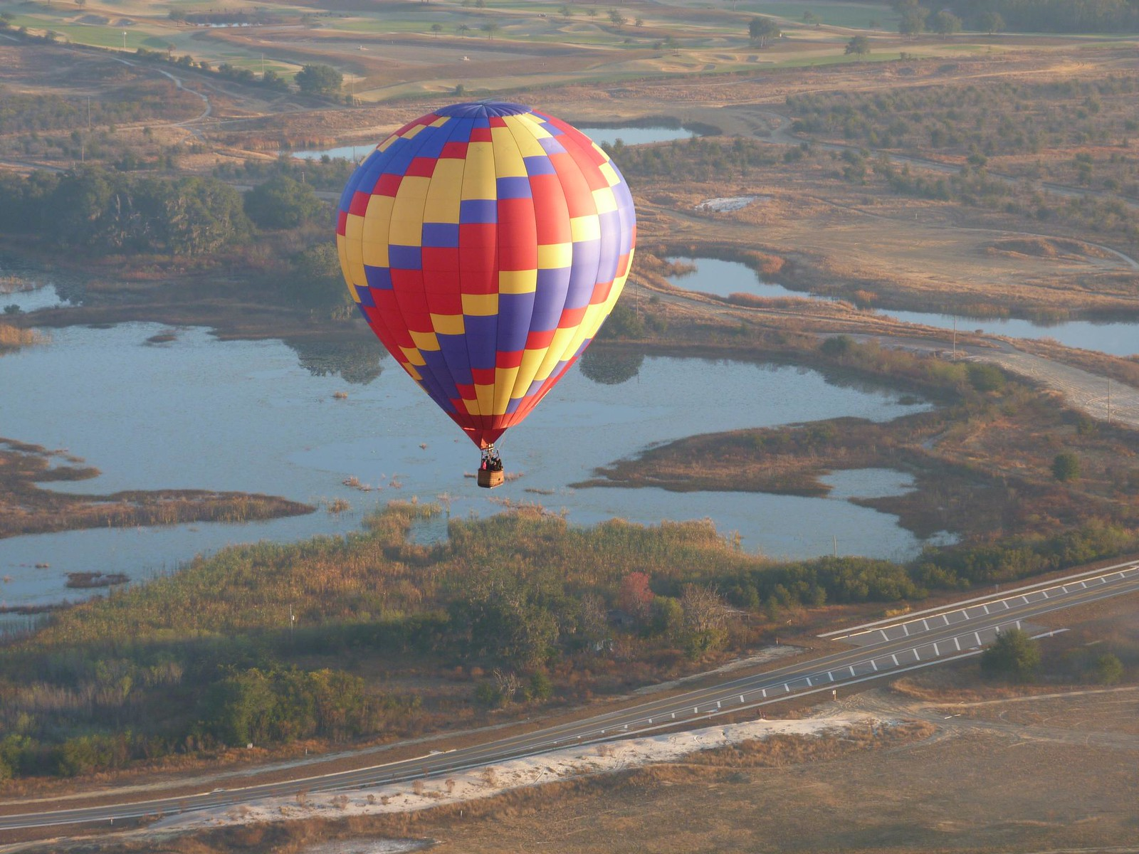 Birthday Hot Air Balloon Ride