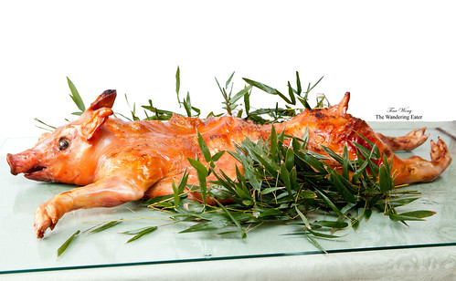 Roasted whole pig (烤全豬); sourced from Pat LaFrieda | by thewanderingeater