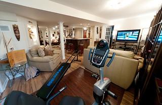 Gym Finished Basement | by finishedbasement.ca