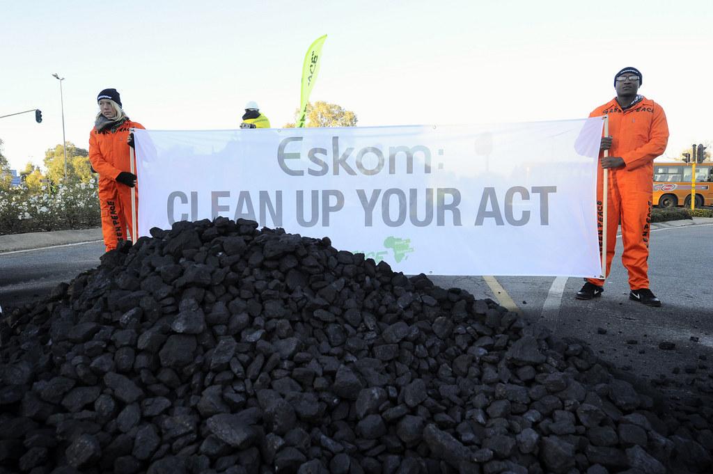Greenpeace Block Eskom - 27-06-11