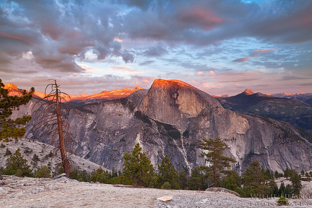 Half Dome Dinner View