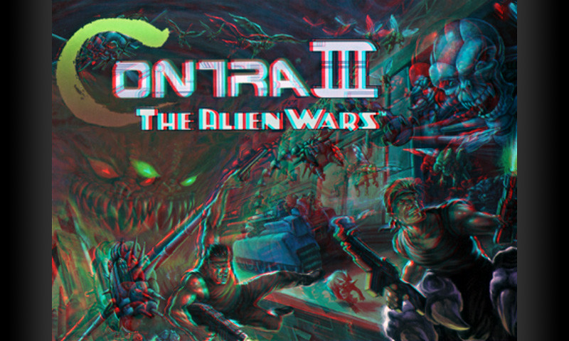 Contra 3 3D Poster - anaglyph | Roman Shabanov | Flickr