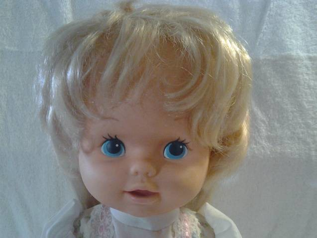 Pull My Strings Walk Tall: #001 1978 Mattel Walking Doll With Pull String $20.00 O.B
