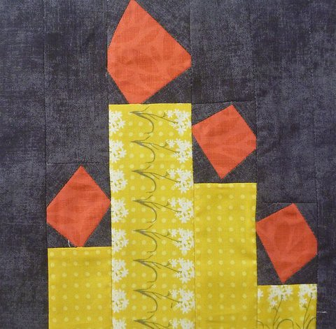 DHWQ Week 23 - Light the Candle | by Quiltjane