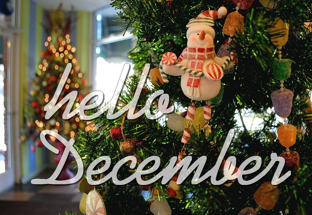 Goodbye November Hello December It S December 1st 24 D