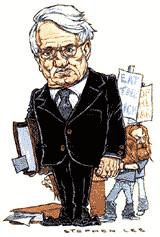 Jürgen Habermas (cartoon)