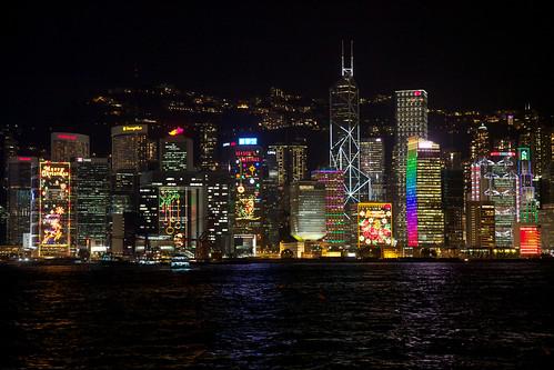 Hong Kong skyline | by hanspoldoja