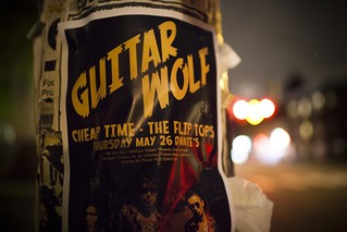 Guitar Wolf | by Sean Davis