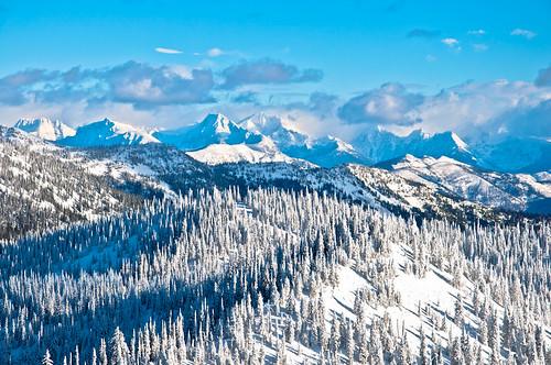 travel snow nature landscape photography montana whitefish