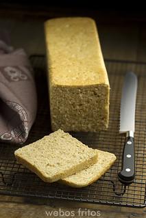 Pan de molde integral   by webos fritos