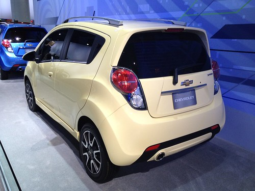 2013 Chevrolet Spark - Live from the 2012 Detroit Auto Show -  Jan 10, 1:15:02 PM Photo