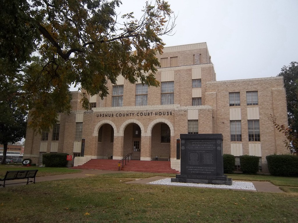 Upshur County Courthouse, Gilmer, Texas | Date - 1933 Archit