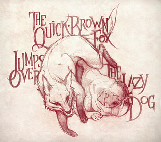 The Quick Brown Fox Jumps Over The Lazy Dog | by Nicolas Munoz