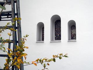 Paris Mosque wee window triptych | by pixn8tr
