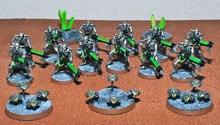 Necron Warriors Canoptek Scarabs *BITS*