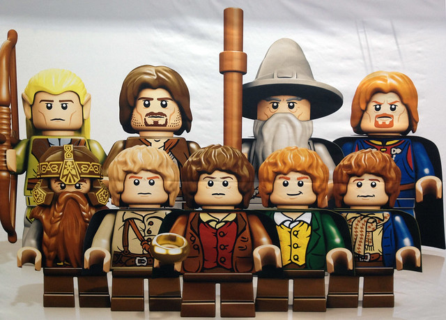London ToyFair 2012: Lego Lord of the Rings: The Fellowship