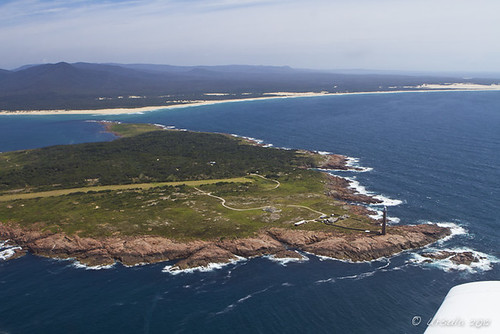 water island coast waves view australia aerial land vic runway birdseye gabo gaboisland gaboislandadventure merimbulaairservices