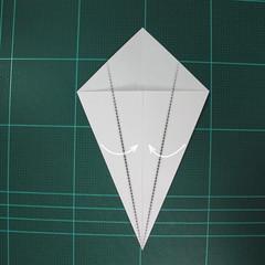 การพับกระดาษเป็นนกกระสา (Origami Pelican) 004