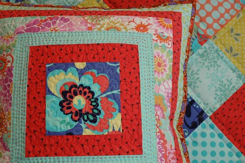 Cushion and quilt