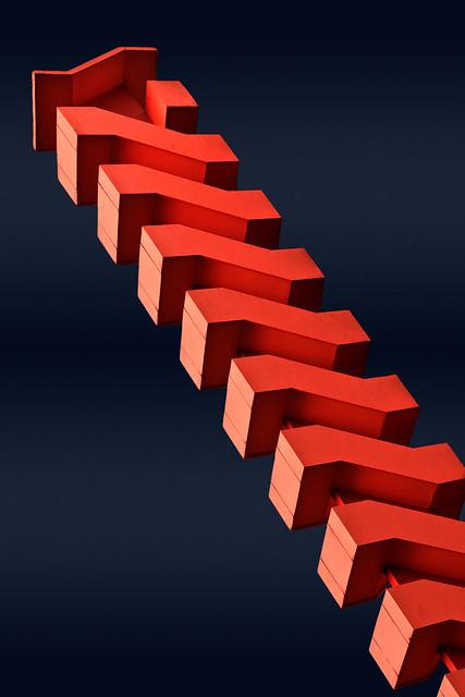 Kapla L'escalier Rouge