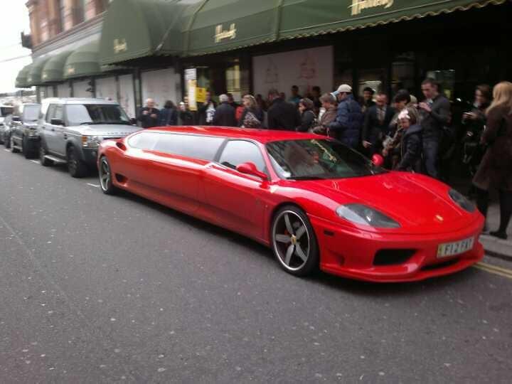 Ferrari Limousine Ben Flickr