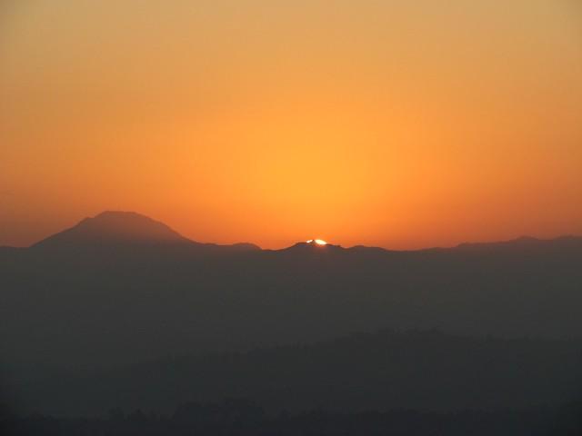 Winter Solstice Sunrise on Cowles Mtn
