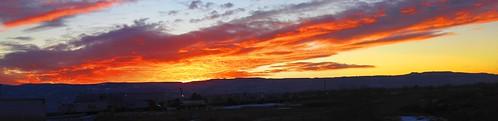 sunset grandjunction coloradonationalmonument