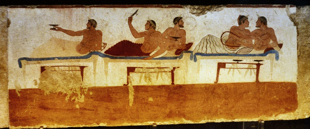 Paestum Ancient Greek Funeral Art In Italy The Symposium