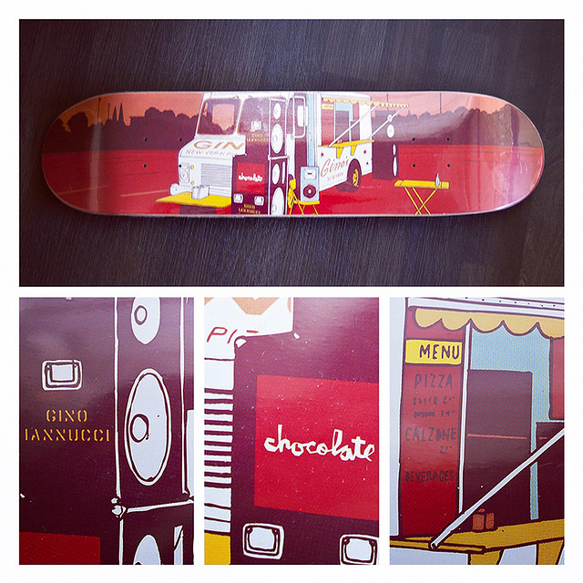 Chocolate Skateboards - Gino Iannucci