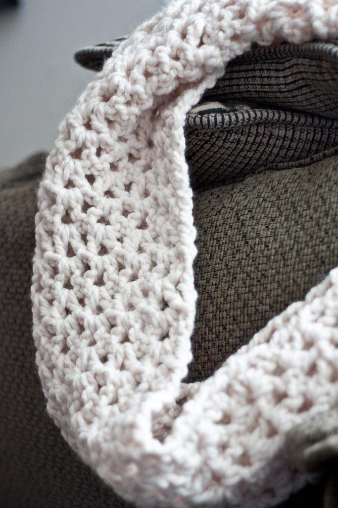 Crochet Infinity Scarf Tutorial Mara Rosenbloom Flickr