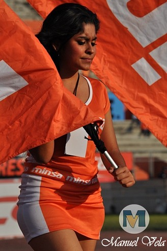DSC_0122 Belleza Futbolera en el Jaguares de Chiapas vs Puebla FC J4 TC2012 por Mv Fotografía Profesional / www.pueblaexpres.com