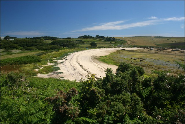 Porth Hellick, St Marys, Isles of Scilly