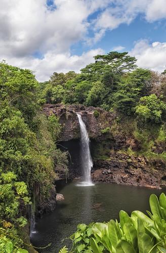 travel trees lake water pool river hawaii nikon tour foliage waterfalls southpacific hilo cascade 1224mm thebigisland wailuku rainbowfalls d90