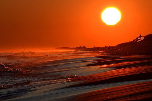 ocean sea sun ny newyork color beach nature sunrise fun evening sand waves earth longisland nikond5100
