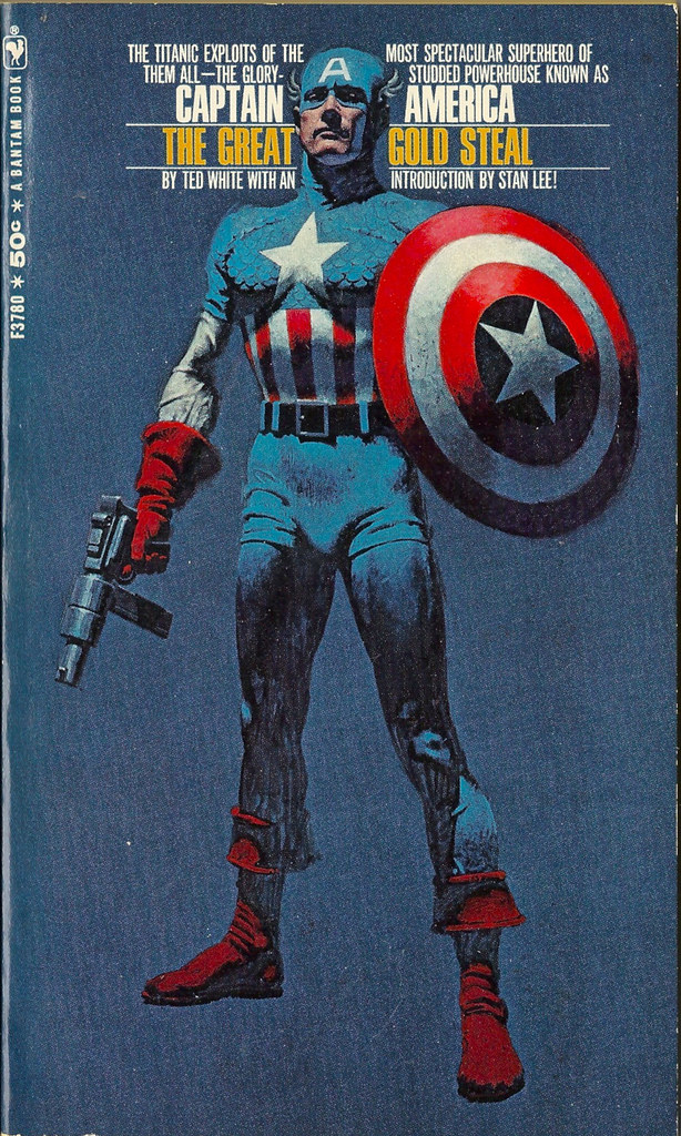 CAPT-AMERICA-GREAT-GOLD-STEAL-1968 | Published by Bantam ...