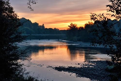 sunrise lancashire preston riverribble prestonlancashire theriverribble lancashirelandscape