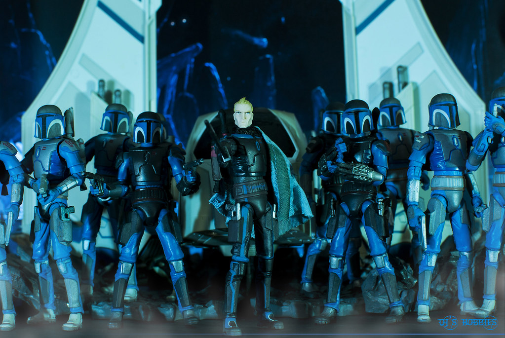 """I am Pre Vizsla of Clan Vizsla. Death Watch is here to sa"