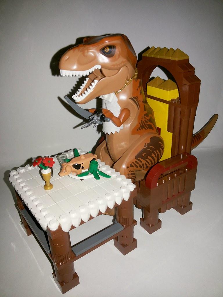 tyrannosaurus látomás