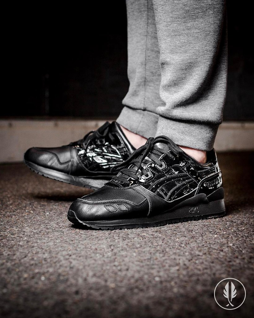 huge selection of 95c5a 70d9a Asics Gel-Lyte III Patent Pack