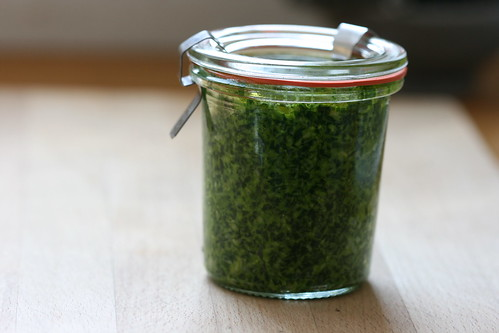 Bärlauch- or Wild garlic pesto