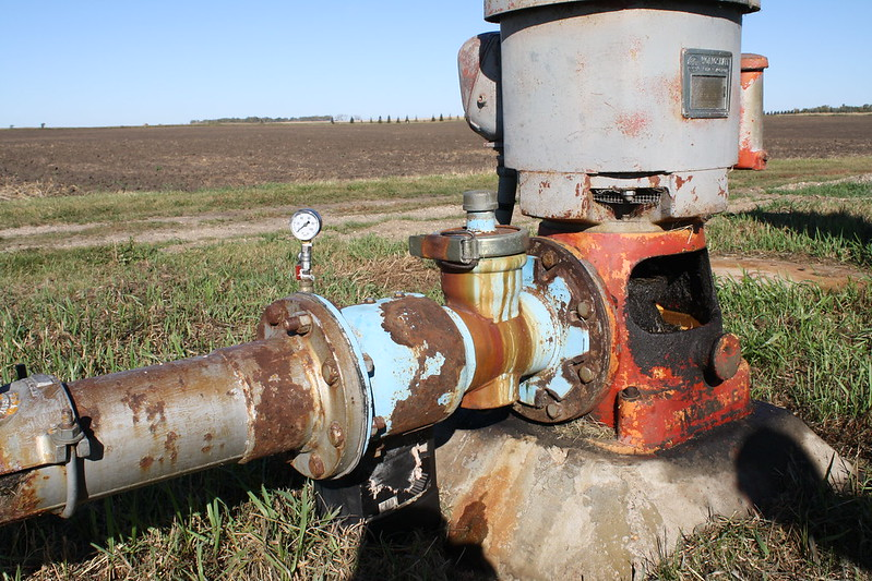 Irrigation pump 4